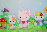 Painel Festa Infantil -  Hello Kitty