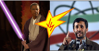 obama y Ahmadineyad