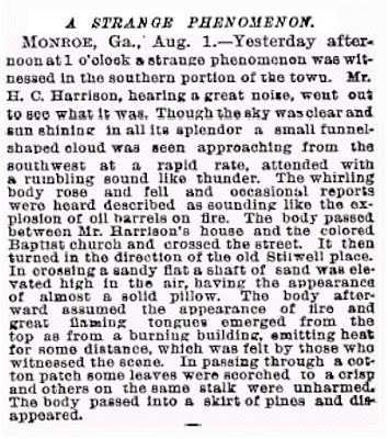A Strange Phenomenon - New York Times 8-2-1888
