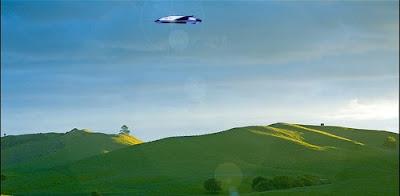 UFO Over Waikato Farm