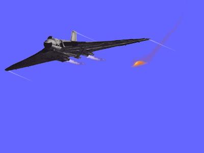 UFO Chasing Vulcan