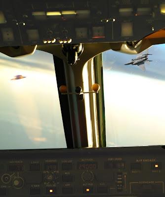 F-15 Chasing UFO