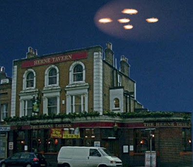UFOs Over East Dulwich