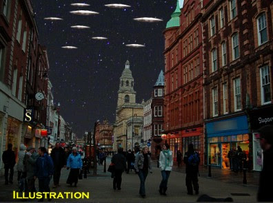 UFOs Over Worcester