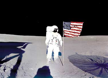 Dr Edgar Mitchell On Moon