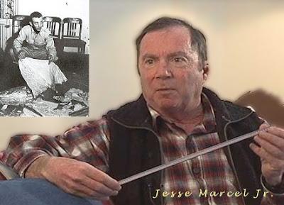 Jesse Marcel Jr.  & Senior