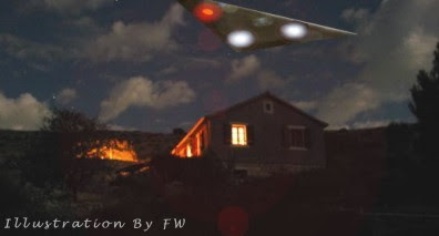 Triangular Shaped UFO Over Brinkhill, Louth