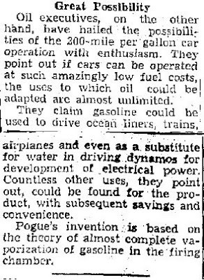 New Mystery Carburetor is Being Tested (B) - Jefferson City Post-Tribune 11-301936