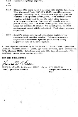 Investigation of UFO Reported Landing on 24 March 1967 (Malmstrom AFB) [C]