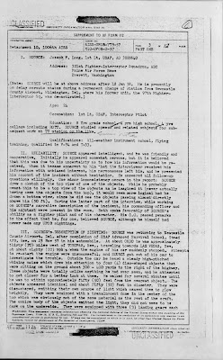 AISS UFO Report of Joseph Long (A)