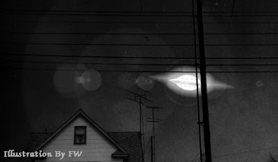 UFO Sighted in Neighborhood at Lyons, Kansas 1963