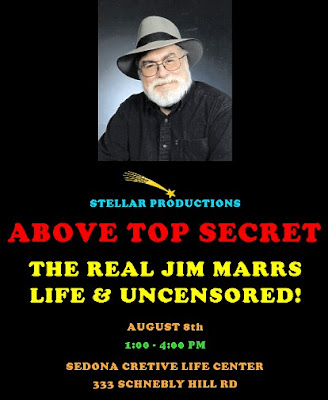 Jim Marrs Ad at Sedona