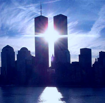 Twin Towers at Sunrise