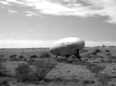 Egg Shaped UFO Seen in Socorro