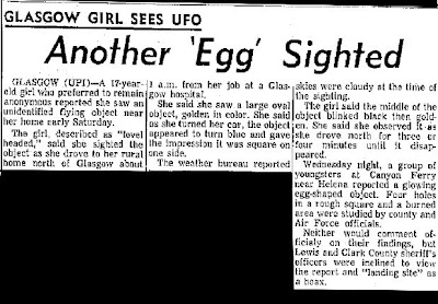 Another Egg Sighted - Billings Gazette 5-3-1964
