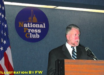 Robert Hastings at The National Press Club
