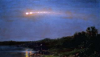 The Meteor of 1860 By Frederic Church