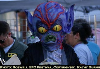 Alien at Roswell Festival