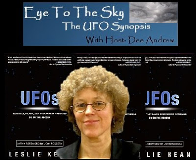 Investigative Journalist & Best-Selling Author, Leslie Kean Joins Host Frank Warren On Eye To The Sky - The UFO Synopsis