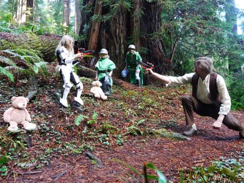 Frog mom explore the redwoods the star wars way welcome to endor explore the redwoods the star wars way welcome to endor redwood national park publicscrutiny Choice Image