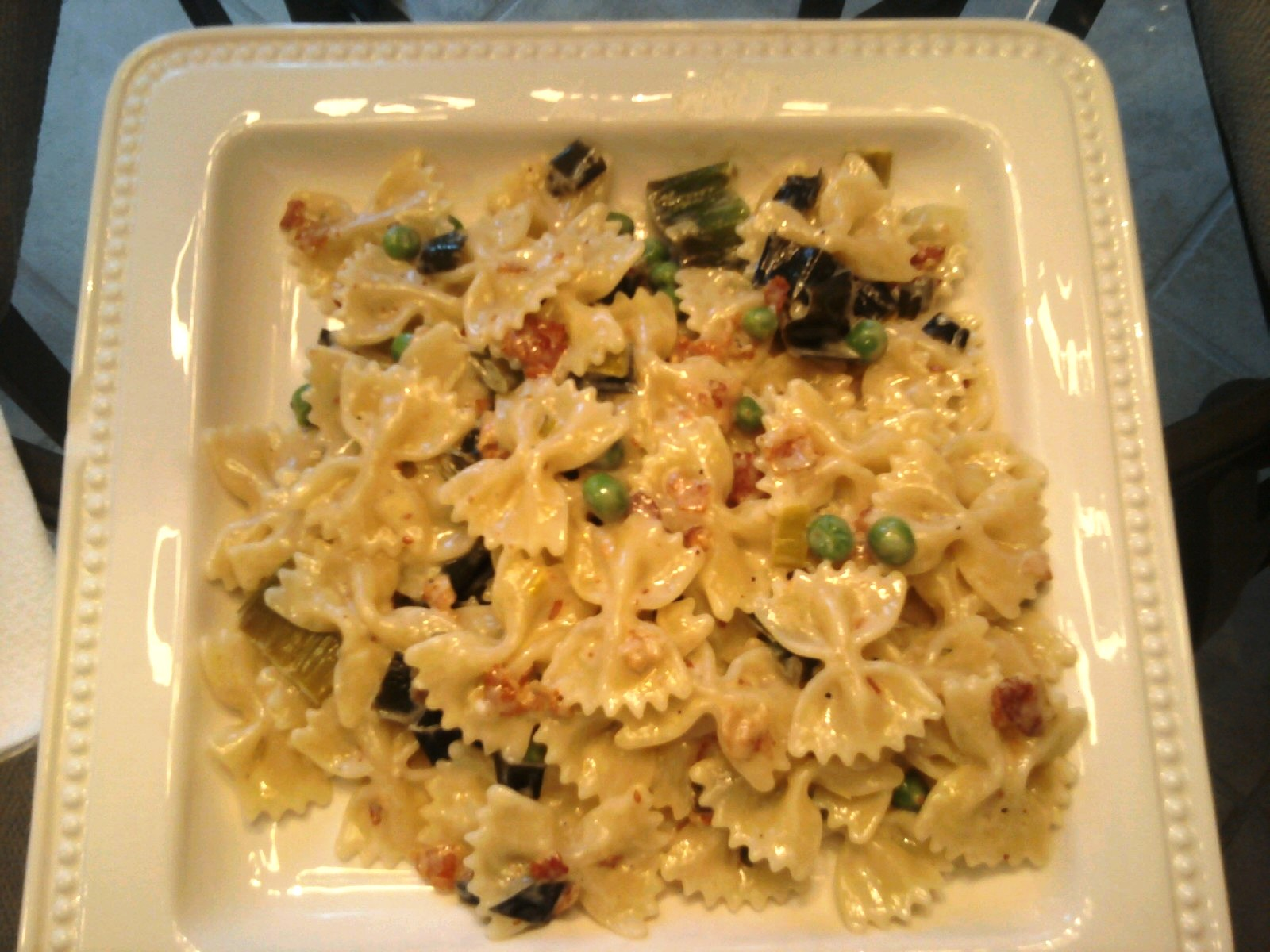 Cancel Your Reservation: Creamy Pasta With Pancetta, Leeks ...