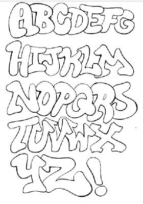 Graffiti Alphabet Styles Letter