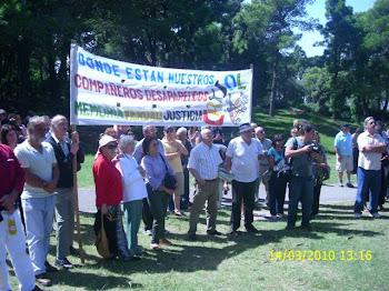 Homenaje a los Detenidos Desaparecidos