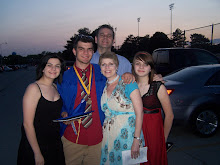 Our family @ Tyler's graduation  June 2009