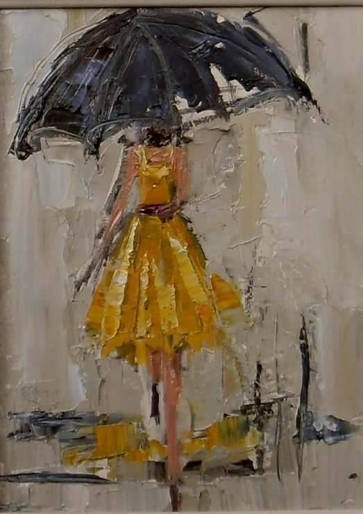 Daily painters of atlanta dancing in the rain 1 2 3 for Atlanta oil painting artists