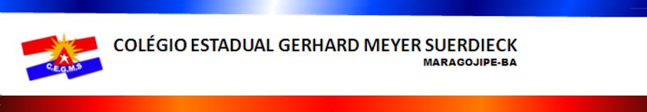 COLÉGIO ESTADUAL GERHARD MEYER SUERDIECK