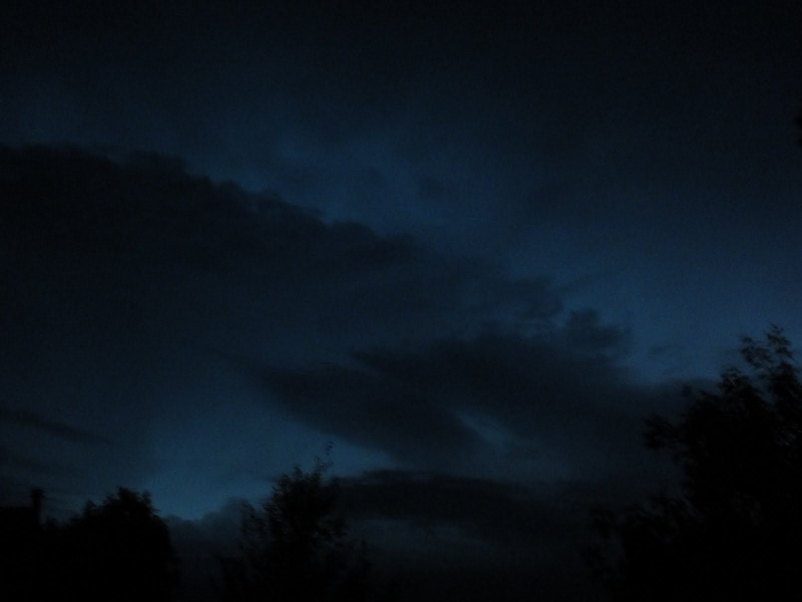 dark blue sky with - photo #3