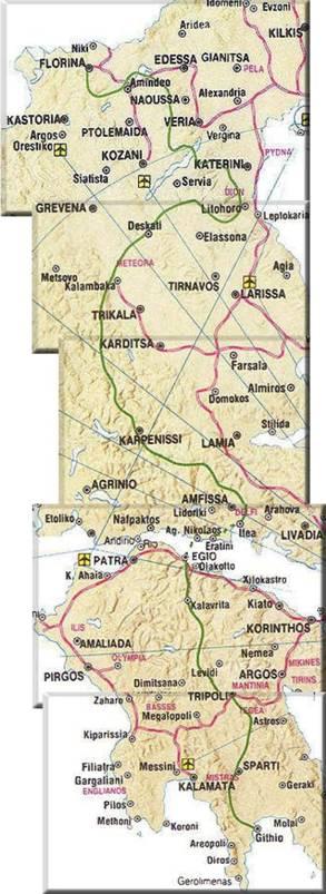 Χάρτης Ε4