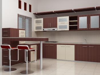 Set mini harga meter kitchen set mini bar minimalis dengan for Bikin kitchen set murah