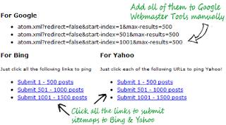Cara Submit Sitemap Untuk Blogspot