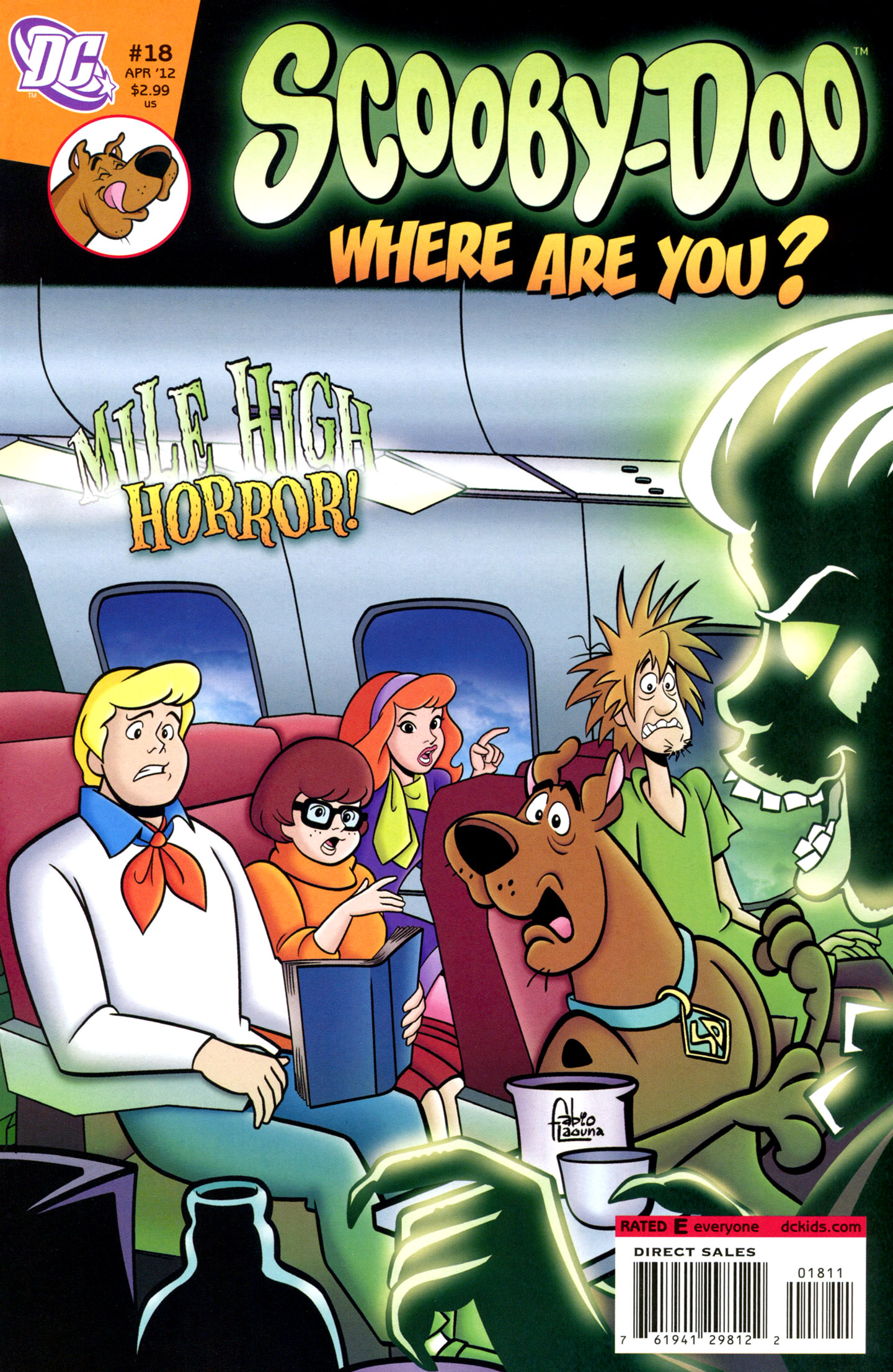 Read online Scooby-Doo: Where Are You? comic -  Issue #18 - 1