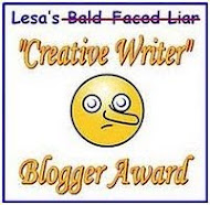 Creative Writer Blog Award