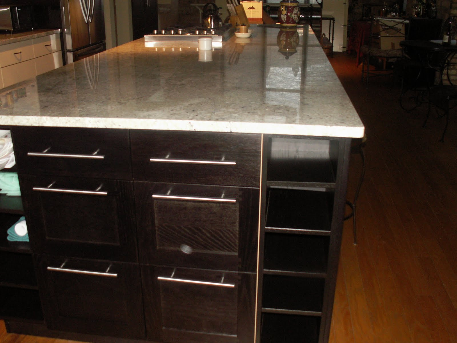 Bianco Romano Granite Kitchen Jc Granite Bianco Romano Kitchen With A Large Island