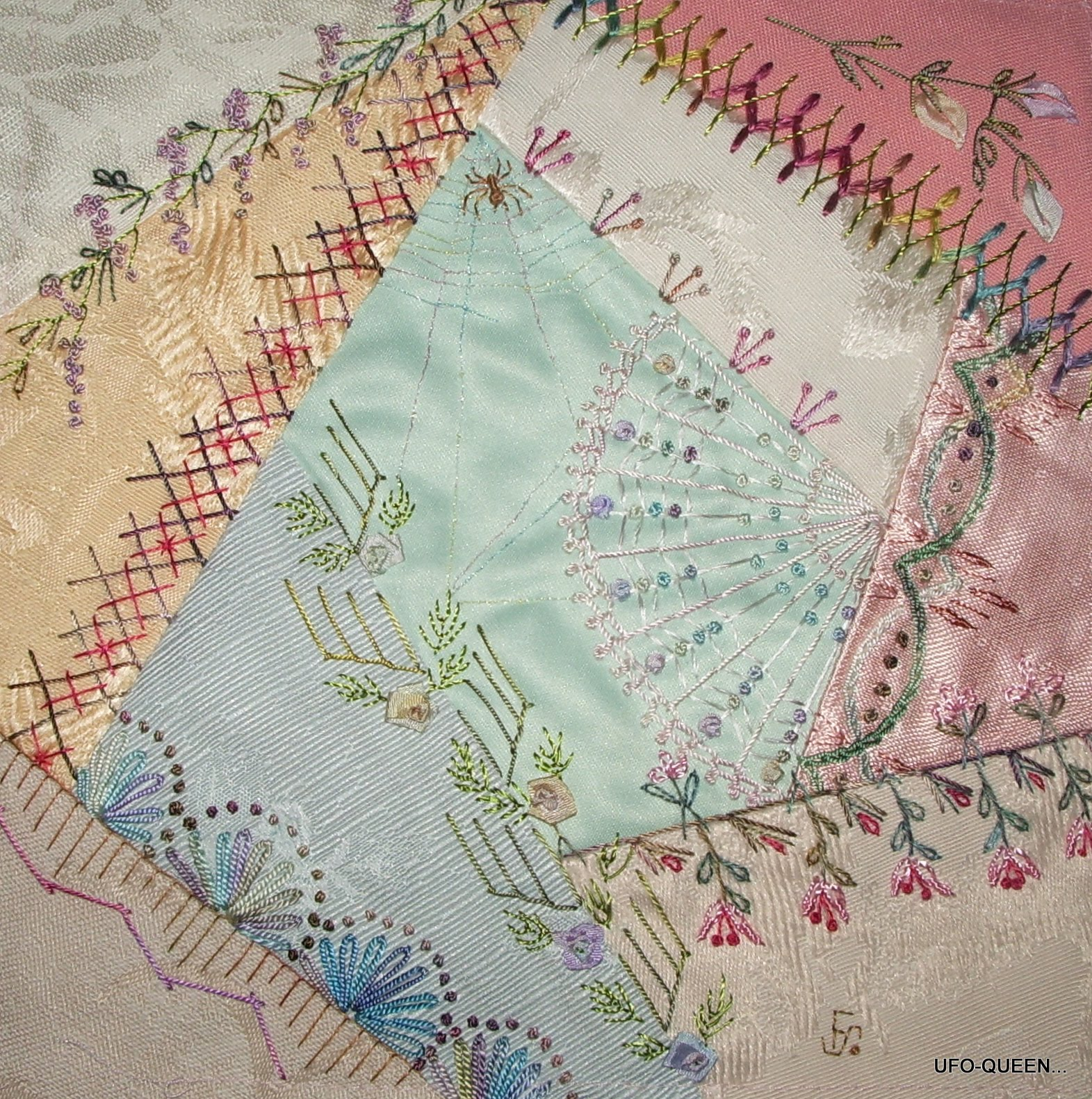 Zoe s memory quilt on pinterest crazy quilting