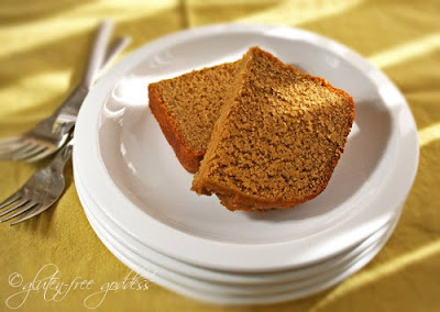 Gluten free pumpkin bread that tastes like pumpkin pie