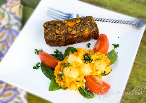 ... -Free Goddess Recipes: Vegan Garden Loaf with Maple Apricot Glaze