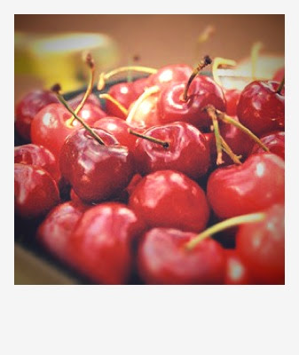 Cherries retro by Karina Allrich