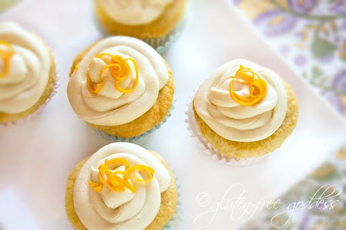 Vegan orange cupcakes, baby. #vegan #cupcakes #glutenfree