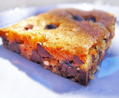 Chocolate Chip Cookies and Vanilla Blondies - Gluten-Free Goddess ...