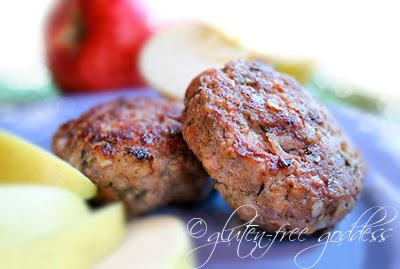 Gluten free homemade sausage patty recipe - so easy