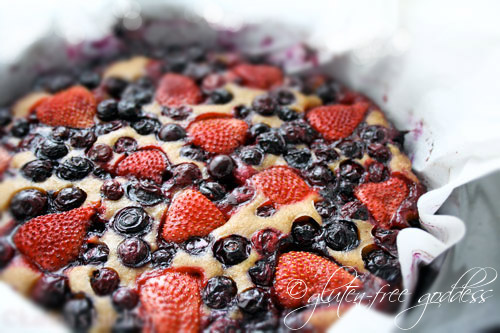 Gluten-Free Goddess Recipes: Blueberry-Strawberry Cobbler