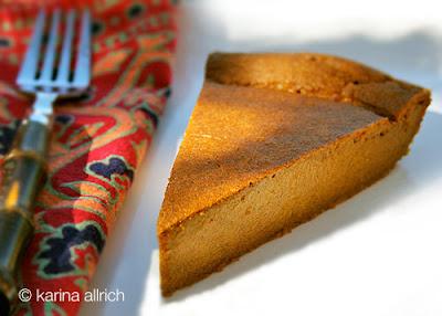 gluten-free pumpkin pie- impossible