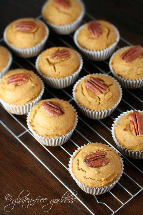 Gluten-Free Goddess Pumpkin Muffins