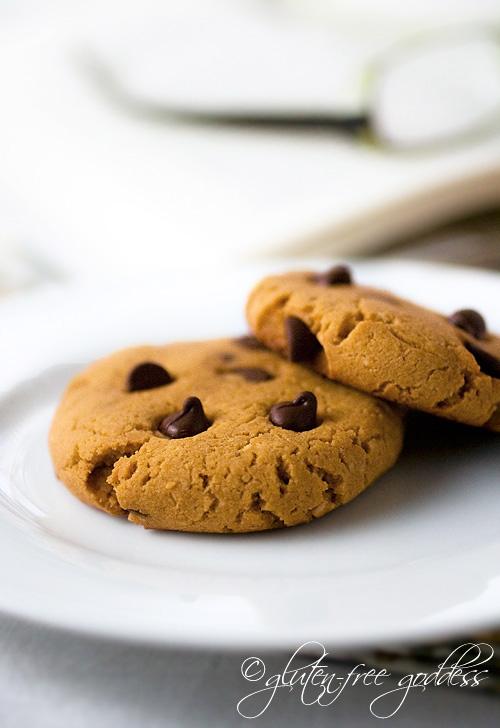 Pumpkin Chocolate Chip Cookies- Gluten-Free Recipe