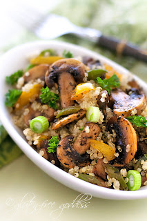 Quinoa mushroom pilaf recipe