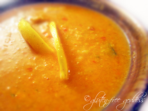 Vegan mulligatawny soup recipe